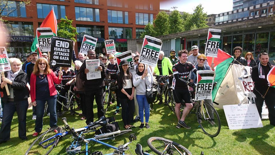 Al Nakba, Manchester Palestine Action